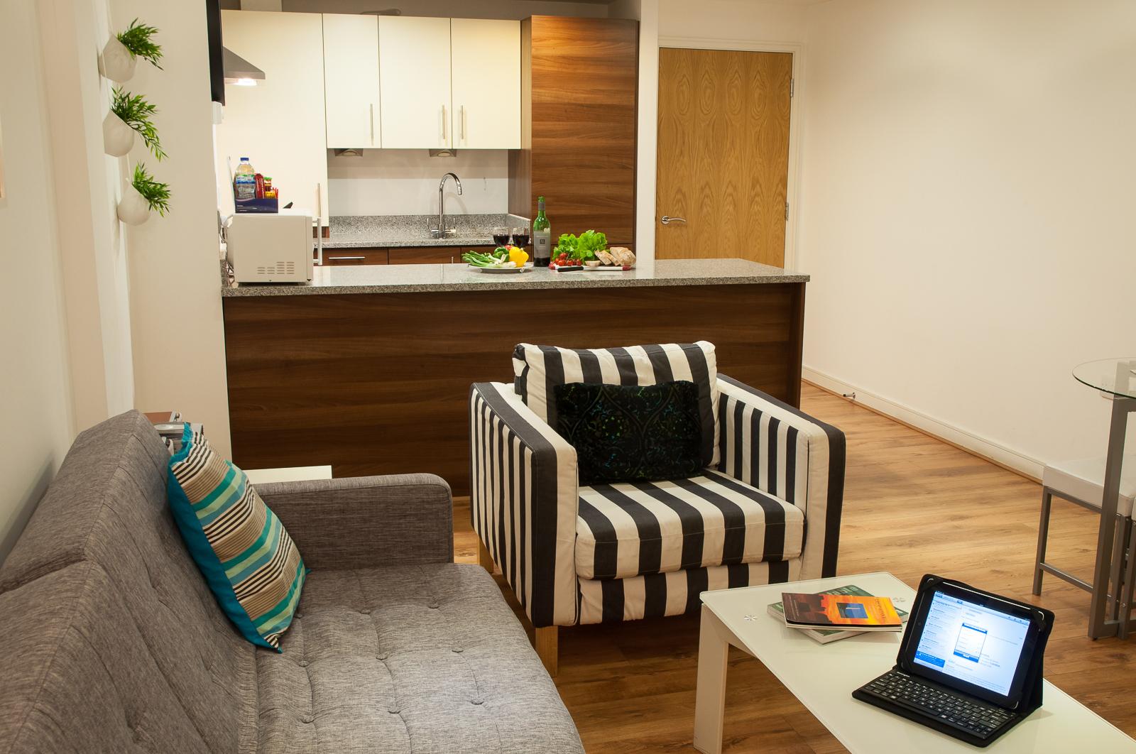 Steward Street - living space